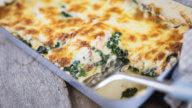 Lasagne mit Lachs und Spinat-2