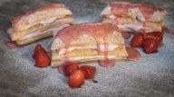Erdbeer Cremeschnitte-2