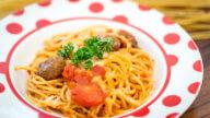 Pasta-Auflauf mit Meatballs