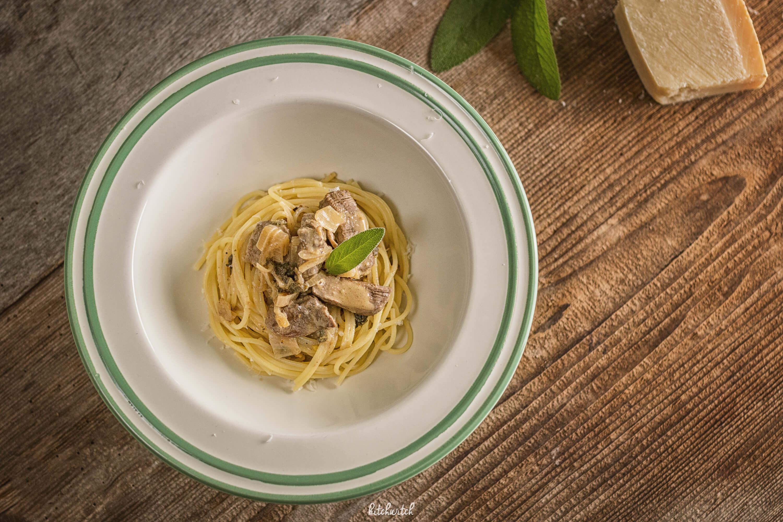 Pasta mit Rindfleisch und Salbei-2