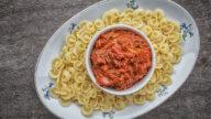 Pastasauce mit Jägersalami & Kapern-1