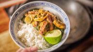 Rindfleisch und Spinat aus dem Wok-1