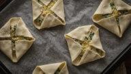 Schinken-Käse Kissen mit Spinat-4