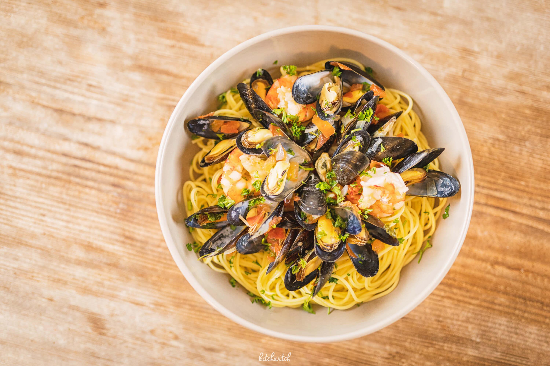 Spaghetti Frutti di Mare-4