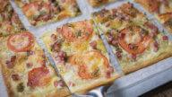 Flammkuchen mit Pesto-1