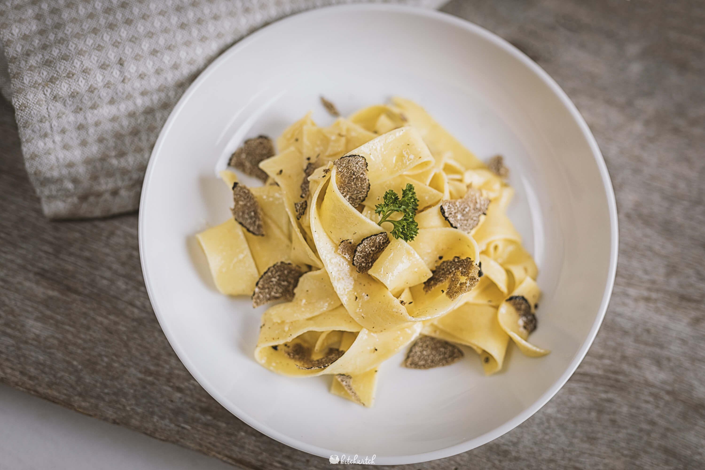Pasta mit Trüffel vom Trüffelmarkt Murten-4