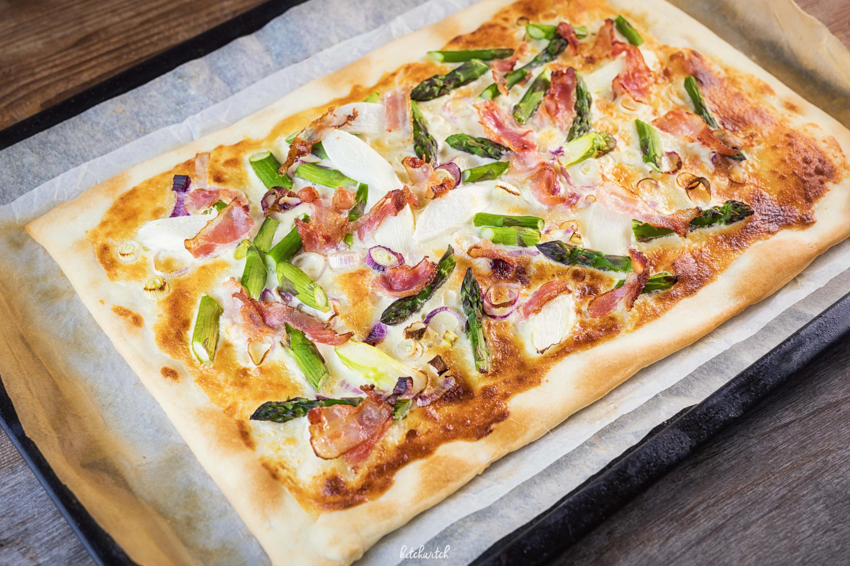 Spargelpizza - Kitchwitch