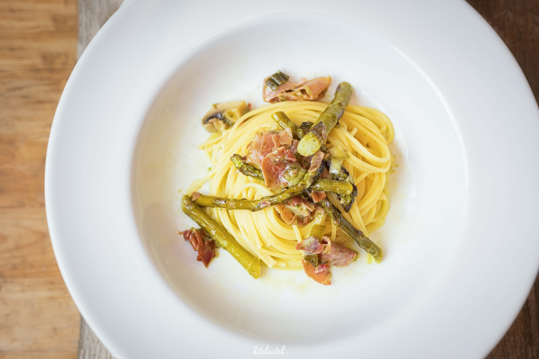 Pasta di Parma mit Spargel und Bärlauch-2
