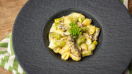One Pot Pasta mit Spargel und Speck-2
