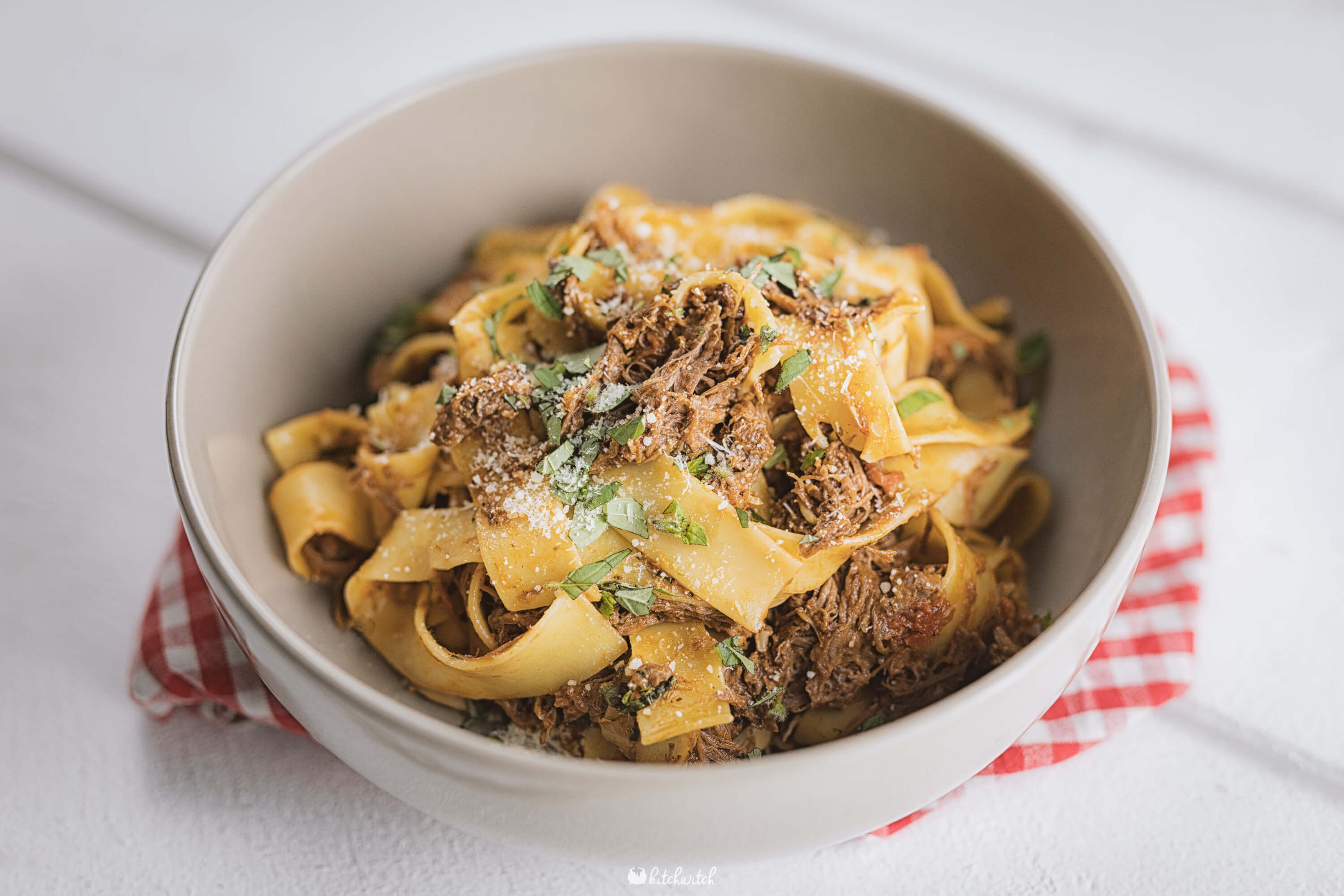 Pulled Beef Pasta Hell-2